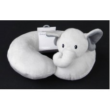 Baby Neck Pillow /Gray Elephant