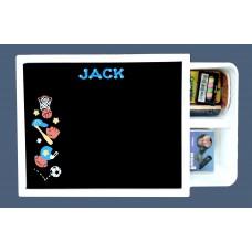 Art Tub Chalk Board/ Sports Design