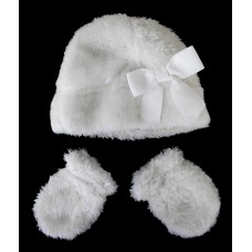 Hats / Baby Cozy Sherpa Hat and Mitten Set