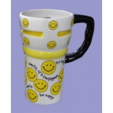 Travel Mugs /Smiley Faces
