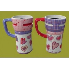 Travel Mugs /Hearts