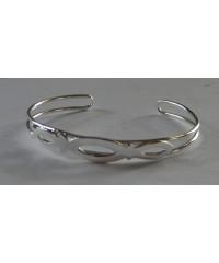 Christian Fish Symbol Cuff Bracelet