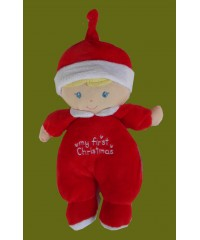 My First Christmas Baby Doll