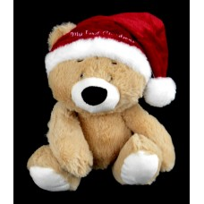My First Christmas Bear Rattle Plush