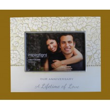 """Picture Frame /Our Anniversary """"A Lifetime Of Love"""""""