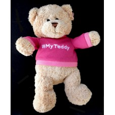 """#My Teddy"" Bear /Pink or Blue"