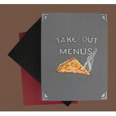 """Take-Out Menu Boxes /""""Pizza Slice"""""""