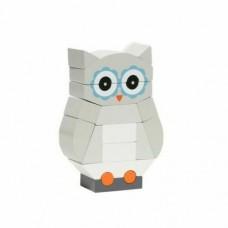 Magnetic Stack-Up Blocks /Luna the Owl