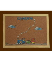 Bulletin Boards /Large Natural /Trains