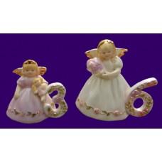 Ceramic Birthday Angels