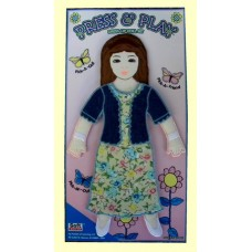 Press & Play Dolls Dress-Up Set /Girl #1