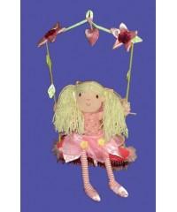 Fairy On A Swing Doll