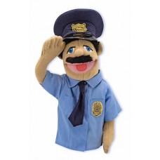 Police Officer Puppets