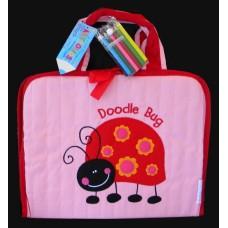 """Artfolios /""""Doodlebug"""" Pink Ladybug"""