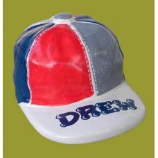 Baseball Ceramic Cap Bank
