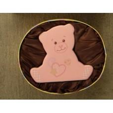 Pink Bear Ceramic Bank