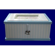 "Memory Boxes w/Picture Frame 3/ ""Li'l Boutique"""