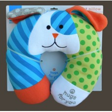 """""""Hugs For You"""" /Dog Baby Car Travel Pillow"""