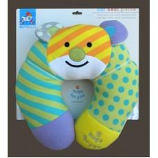 """Hugs For You"" /Bear Baby Car Travel Pillow"