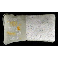 "Decor Pillow / ""Love You To The Moon and Back"""