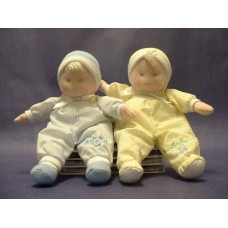 Baby Dolls /Blue & Yellow Rattles