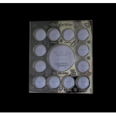 """My First Year"" Silver Picture Frames"