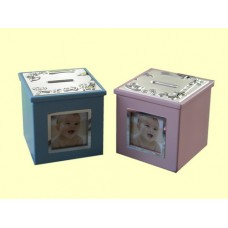 Bank Boxes W/Photo Inserts