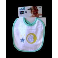 "Terry Cloth Bibs /""My Little Baby"""