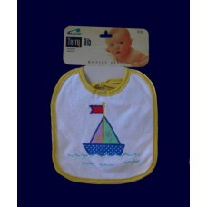 Terry Cloth Bibs /Sail Boats