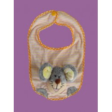 """Motley Mouse"" Pink Bibs"