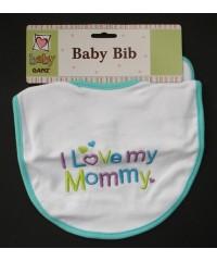 "Bibs /""I Love My Mommy"""