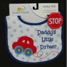 "Bibs /""Daddy's Little Driver"""