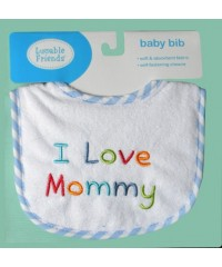 "Bibs /""I Love Mommy"""