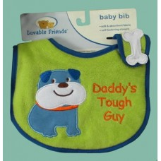 """Bibs /""""Daddy's Touch Guy"""""""