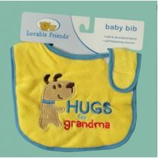 """Bibs /""""Hugs For Grandma"""""""