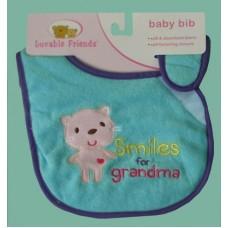 "Bibs /""Smiles For Grandma"""