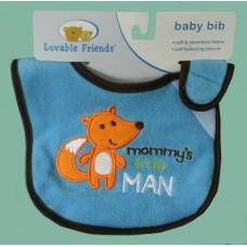 """Bibs /""""Mommy's Little Man"""""""