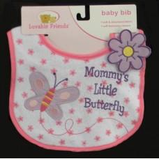 """Bibs /""""Mommy's Little Butterfly"""""""