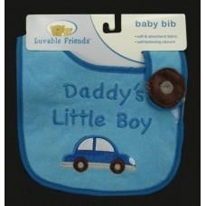 """Bibs /""""Daddy's Little Boy"""""""