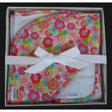 "Hooded BathTowel Set /""Cutie Pie"""