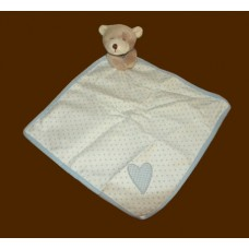Character Comfy Blankies /Poka Bear, Blue