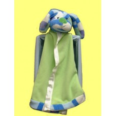 Security Blankies-Striped Puppy