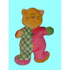 Jiggle Brights Rattle Plush /Kitty /Cats