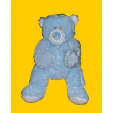 Bellifuls Bears/ Rattle Plush: Large Bear/ Blue