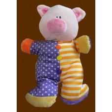 Jiggle Brights Rattle Plush /Pigs