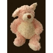 Bellifuls Dog / Rattle Plush: Large Dog / Pink