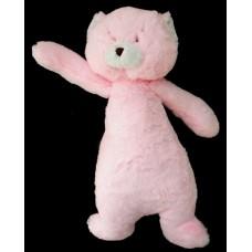 """Marmalade"" Plush Bear Rattles /Pink"