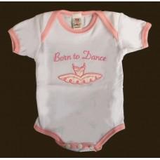 "Diaper Shirt-""Born To Dance"""