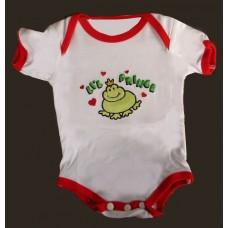 """Diaper Shirt -""""Li'l Prince"""" Frog"""