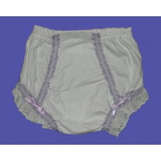 Diaper-Cover Panties /Lavender Gingham
